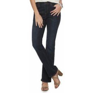Black bootcut jeans Jennifer Lopez